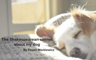 The Shakespearean sonnet about my dog
